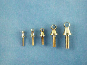 Caldercraft Model Boat Fittings: Grabrail Stanchion -  Sizes available