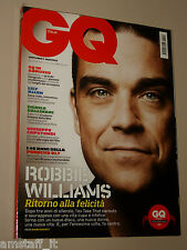 ROBBIE WILLIAMS cover MAGAZINE GQ 2009=VIVIAN GUIMARAES=IZABEL GOULART=DJ RALF=