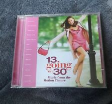 13 GOING ON 30 MUSIC FROM MOTION PICTURE CD ALBUM RARE OST SOUNDTRACK
