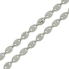 Chain 11.8mm 20 Inches Sterling Silver 925 Miami Oval