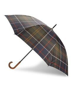 """Barbour Walker Tartan Extra Large Umbrella 40"""" or 1M Wide"""