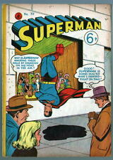 Australian SUPERMAN 70 DC Comics 1950's w Action Comics 204 cover AU