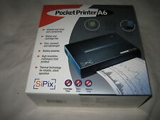 SiPix Pocket Printer A6 Portable Thermal Printer NEW
