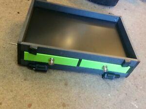Maver Mxi Seatbox Double Front tiroir Unit-L635 RRP £ 89.99 #BRAND NEUF #