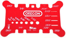 GENUINE Oregon Bar & Chain Measuring Tool - 556418
