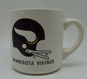 NOS Vintage Minnesota Vikings Advertising NFL FOOTBALL COFFEE MUG CUP