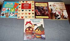 Lot of 5 MIXED CRAFTS BOOKS - Listed & Pictured - BX-14