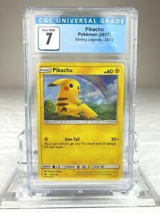 CGC 7 Pokemon Pikachu Shining Legends #28