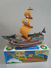 MT Modern Toys Japan Pirate ship Battery operated Toy near mint but don't work.