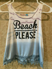 Vintage Havana Girls Ombred Tank Top