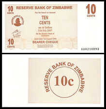 Zimbabwe 10 Cent 2006 P35 Unc
