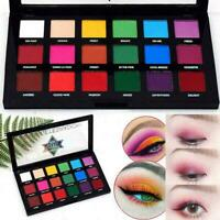 18Color Fine Dust Glitter Eye Shadow Palette Beauty Pigmente Matte Makeup Y1D7