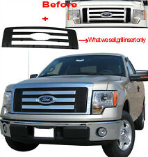 VIOGI FITS:Ford F150 Pickup Truck Billet Grille Upper Bolt-On Grill FX4 STX LX