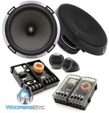 "FOCAL PS-165 6.5"" 160W RMS 2-WAY COMPONENT MIDS CROSSOVERS TWEETERS SPEAKERS NEW"