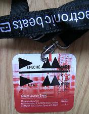 Depeche Mode offizielle Pass 2013 Wien Wien Delta Machine Promo Launch Event NEU