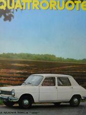 Quattroruote n°142 1967 - la Marzal  - Test su strada DAF 44 LUX   [Q79B]