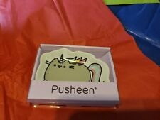 "Pusheen ceramic trinket tray 4"" stoneware dish  Unicorn."
