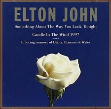 Elton John Something about the way you look tonight/Candle in the wi.. [Maxi-CD]