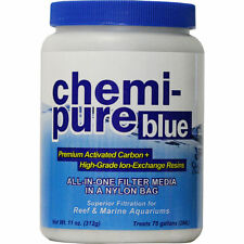 BOYD CHEMI PURE BLUE 11 OZ AQUARIUM FILTER MEDIA - CHEMIPURE CARBON GFO
