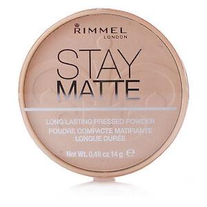 RIMMEL LONDON STAY MATTE PRESSED POWDER 006 WARM BEIGE