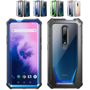 For OnePlus 7 Pro Case Poetic Shock Absorbing Clear Back Protection Cover