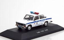 LADA VAZ 2106 RUSSIA POLICE 1976 ATLAS 7598009 1/43 RUSSIE POLICIA РУССКАЯ ПОЛИЦ