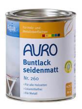 Auro Buntlack und Weißlack seidenmatt 750 Ml Ocker-gelb