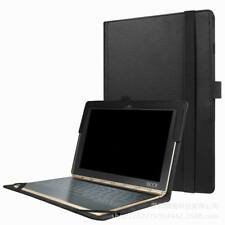 """Premium Leather Case Cover Stand For Lenovo Yoga Book 10.1""""Tablet"""