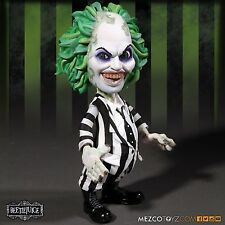 "Package Not Mint Mezco Beetlejuice 6"" Stylized Roto Vinyl Figure"