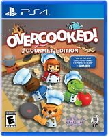 Overcooked!: Gourmet Edition [Sony PlayStation 4 PS4 Team 17 Arcade Action] NEW