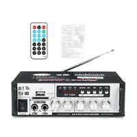 Amplificateur de Puissance 600W Bluetooth Basse StéRéO Audio HIFI AMP FM FM W7K1