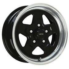 15X7 VISION NITRO BLACK SPORT STAR PRO DRAG RACING WHEEL 5X4.75 1pc NO WELD