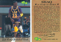 *Lot of 50* SHAQUILLE O'NEAL LSU PURPLE CLASSIC PROMO CARD