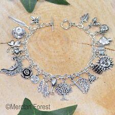 The Hedge Witch Bracelet - Pagan Charm Jewellery Witchcraft Healer Kitchen
