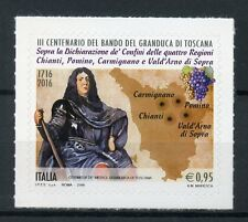 Italy 2016 MNH Grand Duke of Tuscany Announcement 1v S/A Set Stamps