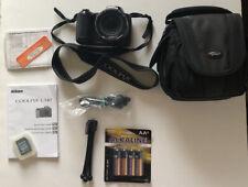 Nikon COOLPIX L340 20.2MP Nikkor Digital Camera (Black)