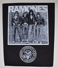Ramones - 1976-Back Patch - 30 CM x 36,3 cm - 164688