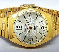 vintage citizen automatic men's gold plated movement No 8200 run order