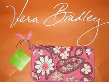 NWT RETIRED VERA BRADLEY BLUSH PINK ZIP AROUND ACCORDION WALLET 15657-376
