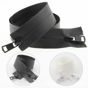 5# Open-end Zipper Waterproof Plastic Nylon For Garment Sewing Zip 60-150cm