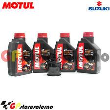 KIT FILTRO OLIO ORIGINALE MOTUL 7100 10W50 SUZUKI 600 GSX-R MOTO GP 2016