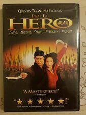 Hero (Dvd, 2004) Jet Li Donnie Yen Chen Dao Ming Maggie Cheung Tony Leung