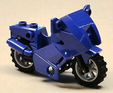 NEW Lego Motorcycle Bike FOR CITY MINIFIGS Purple
