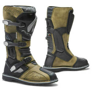 motorcycle boots | Forma Terra Evo brown adventure dual adv 2019 model