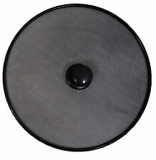 Splatter Guard Frying Pan Anti Splash Screen Cover Mesh Metal Wired - Black