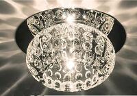 Rond - 3w/5w Cristal LED Chandelier Plafonnier Spot Spot Chaud/Blanc Froid
