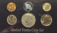 1973  UNCIRCULATED  BIRTH YEAR COINS IN DISPLAY CASE  #120