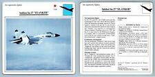 "Sukhoi Su-27 ""Flanker""  - Air Superiority - Warplanes Collectors Club Card"