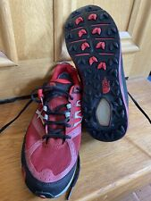 Brand New Red And Black Mens Size 8 North Face Ultra Guide Trail Trainers