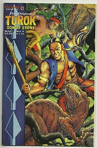 1995 TUROK Son of Stone #2 The Original  (Valiant Comics)  VF+/NM